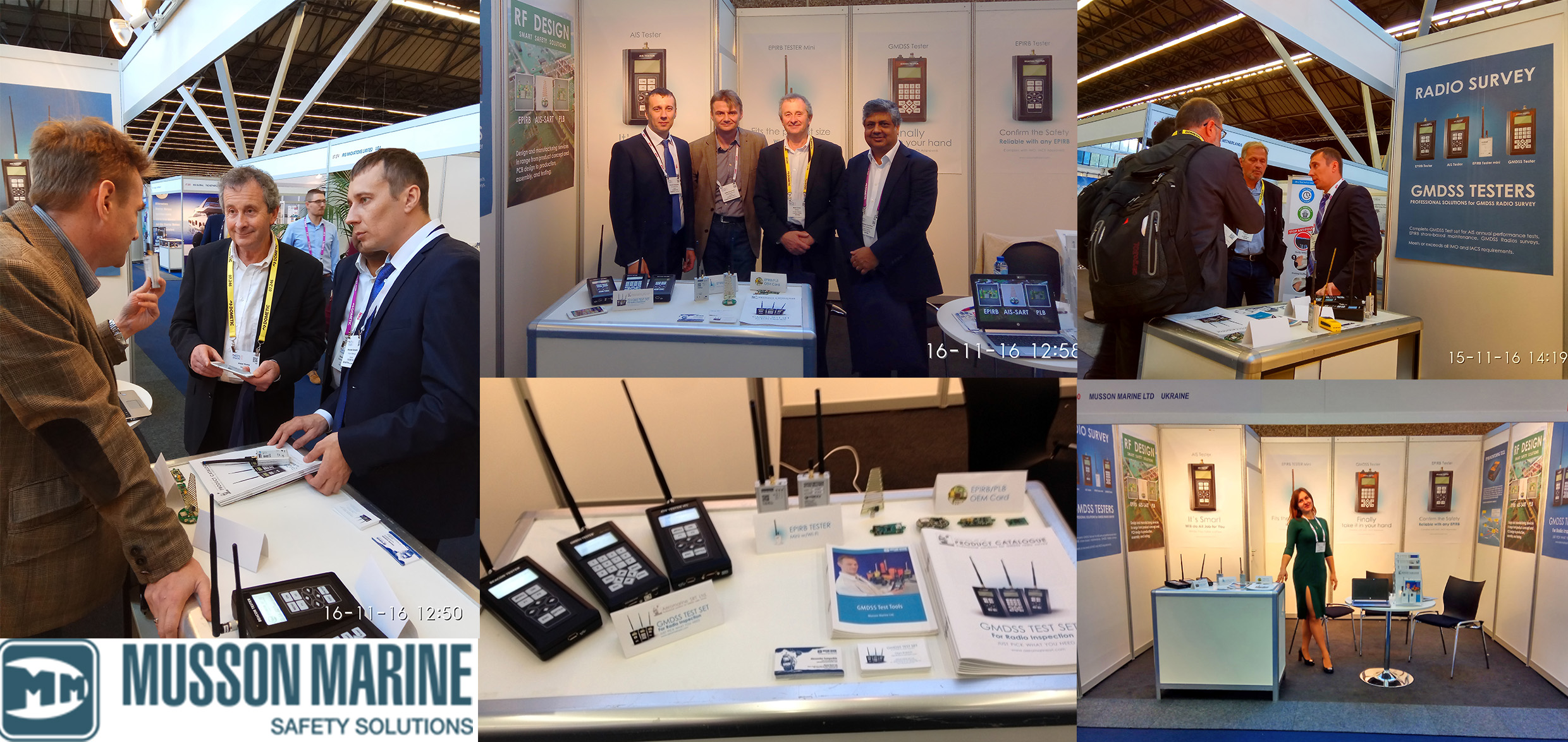 Musson Marine Ltd at METS Trade Show 2016